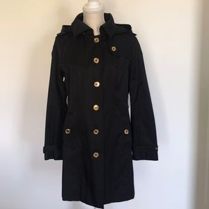 Michael Michael Kors black trench coat